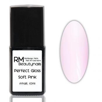 RM Perfect Gloss Glanz Gel non Sticky Soft Pink  10ml