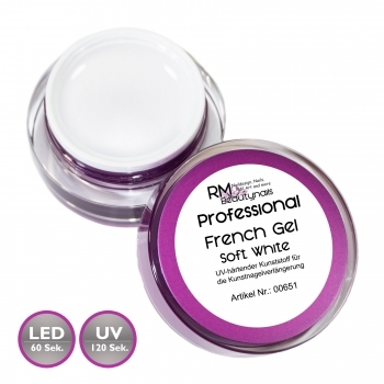 RM Professional French Soft Gel Weiss 5ml
