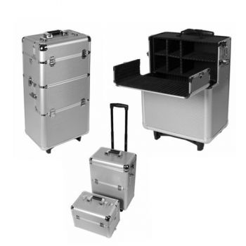 Finger Fashion Alutrolley Silber Aluminium
