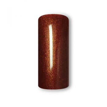Finger Fashion Colourgel mit Glittereffekt CG-06 Rot Braun 5ml