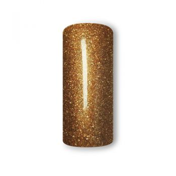 Finger Fashion Colourgel mit Glittereffekt CG-27 Braun Gold 5ml