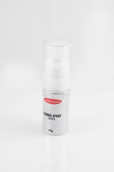 Finger Fashion Funkelspray Silver Inhalt 25gr.